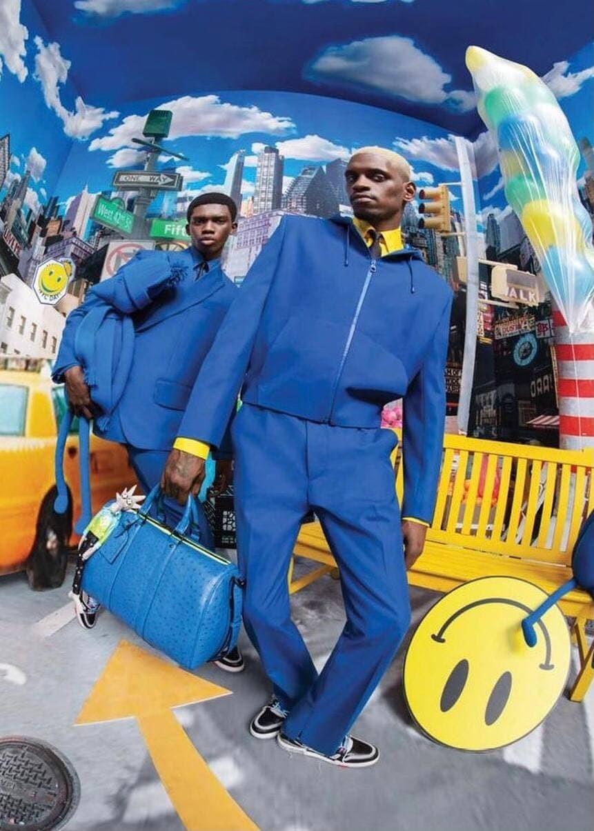 A$AP Nast снялся в новой кампании Louis Vuitton (фото 1)