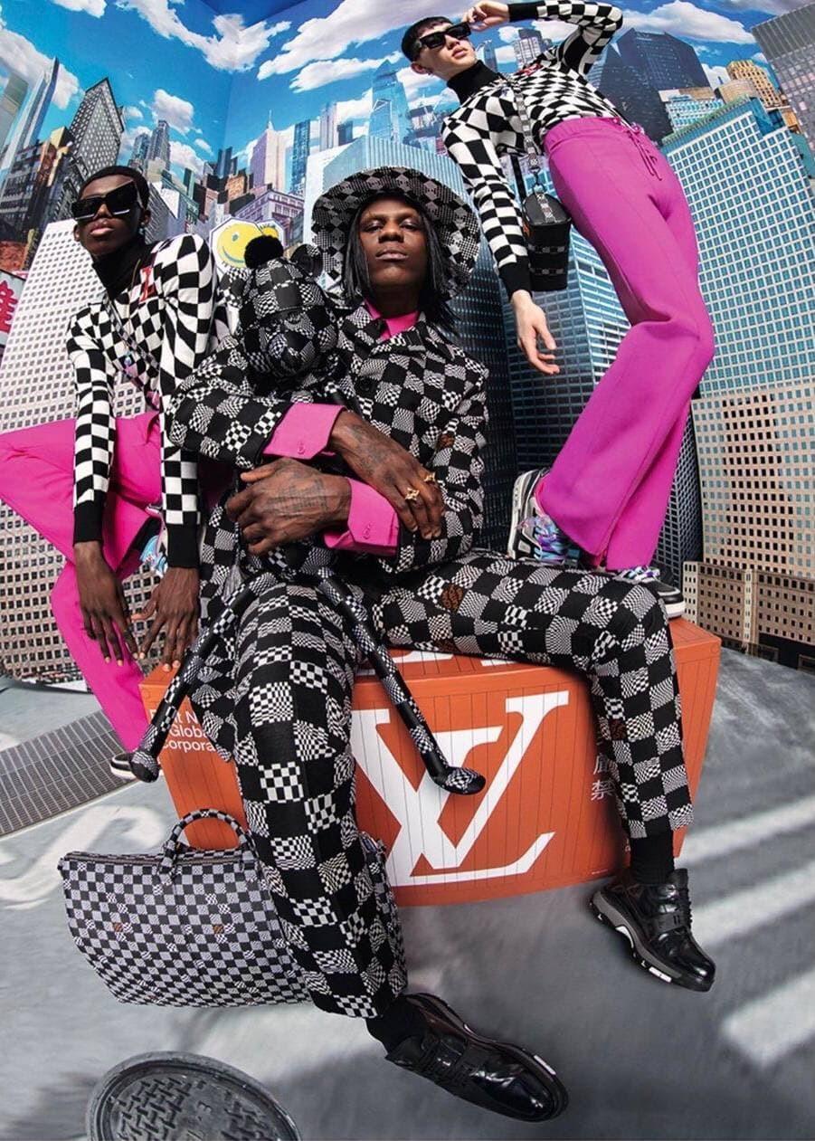 A$AP Nast снялся в новой кампании Louis Vuitton (фото 3)