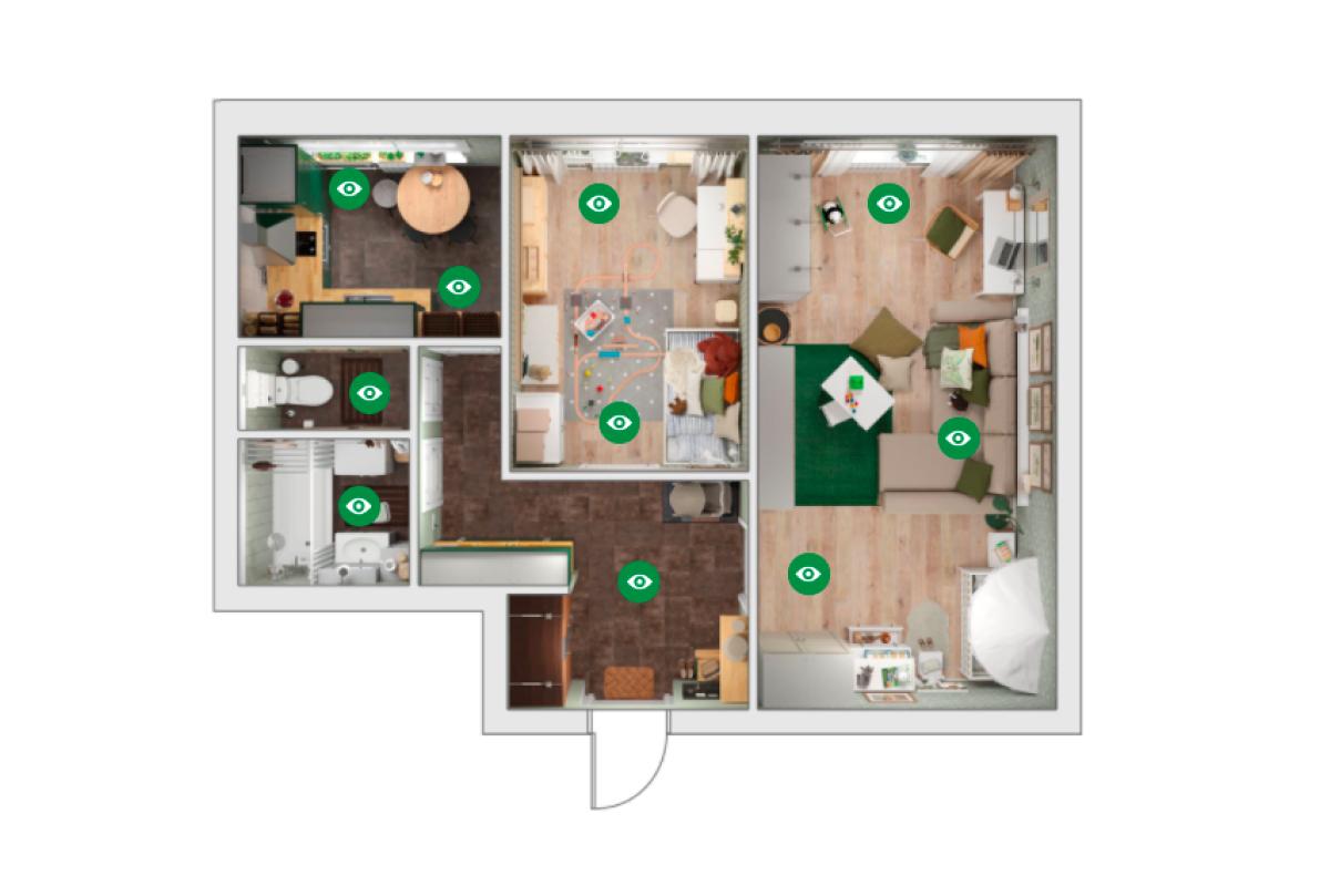 IKEA разработала дизайн-проекты квартир для экологичного образа жизни (фото 2)