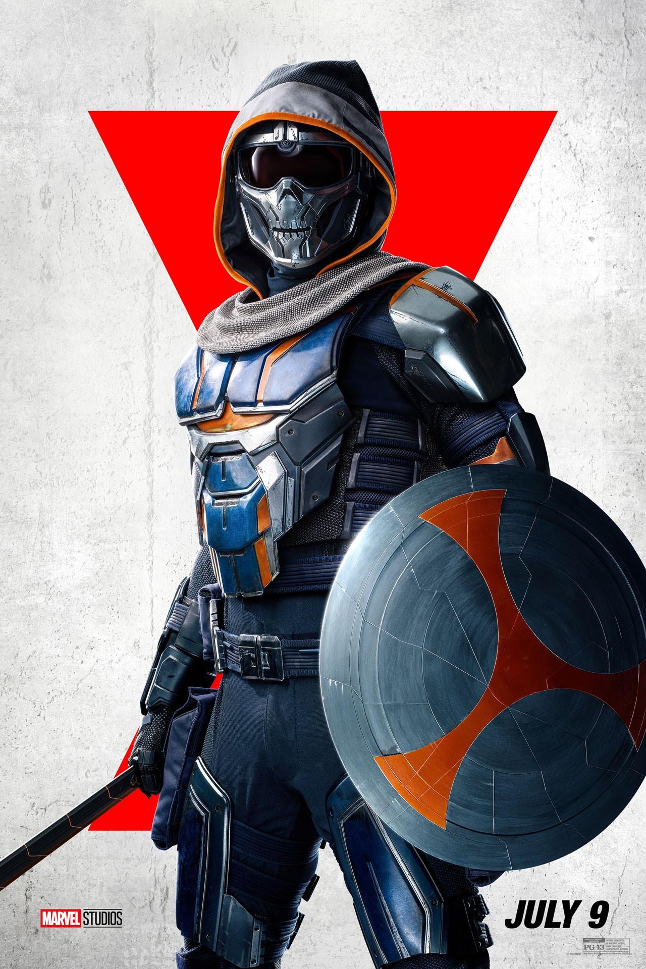 Marvel представила постеры к фильму «Черная вдова» (фото 6)