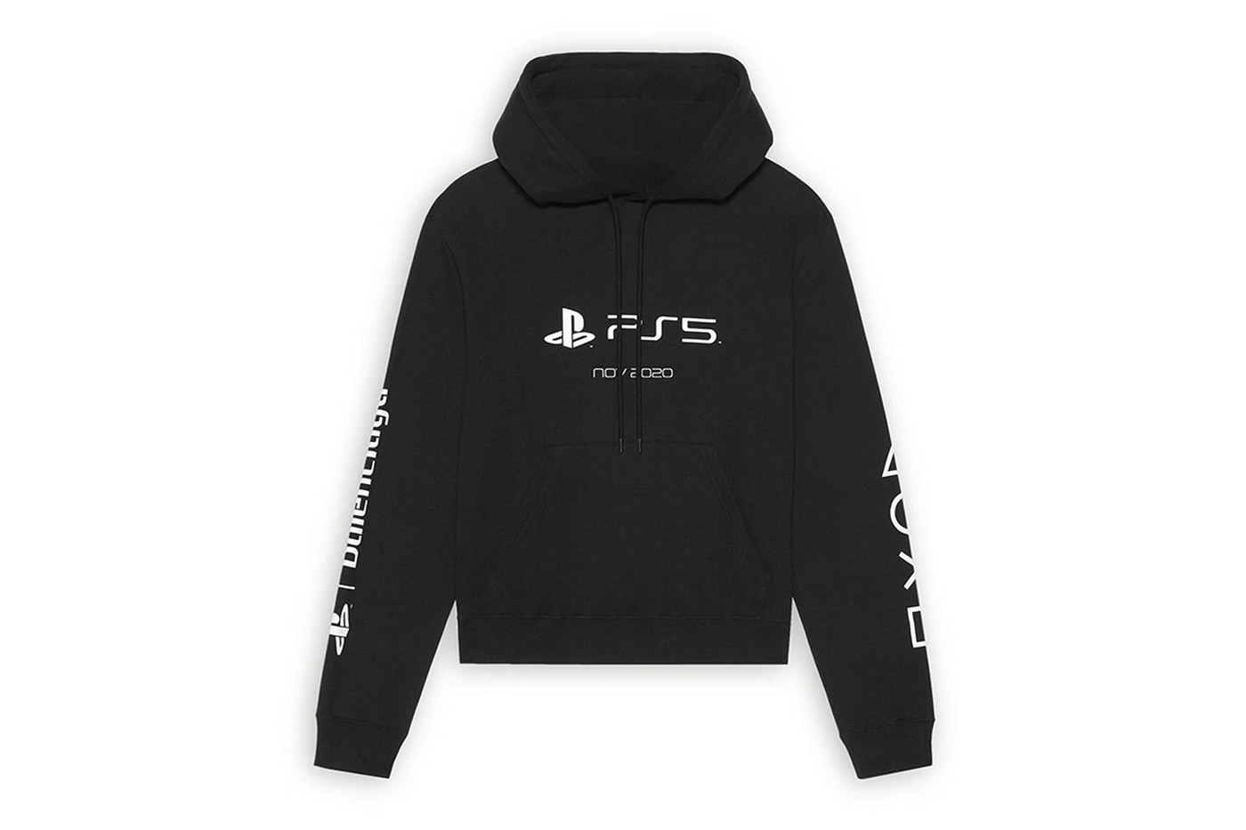 Balenciaga выпустил мерч для игровой консоли Sony PlayStation 5 (фото 5)