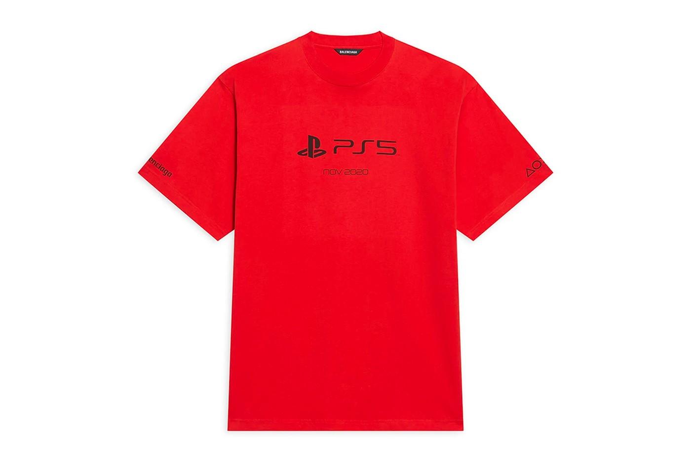 Balenciaga выпустил мерч для игровой консоли Sony PlayStation 5 (фото 3)