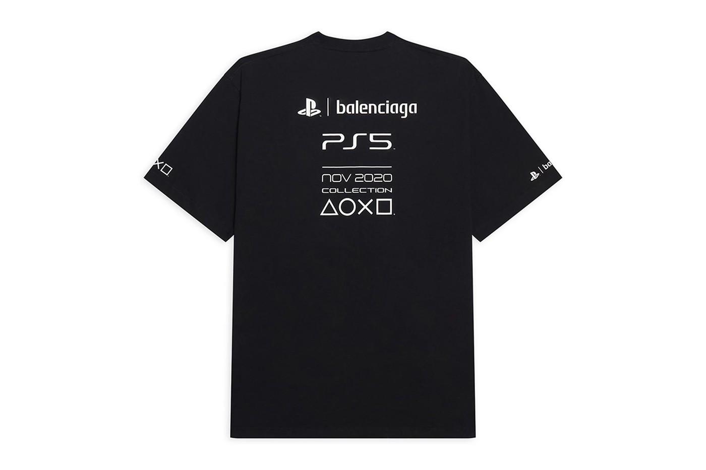 Balenciaga выпустил мерч для игровой консоли Sony PlayStation 5 (фото 2)