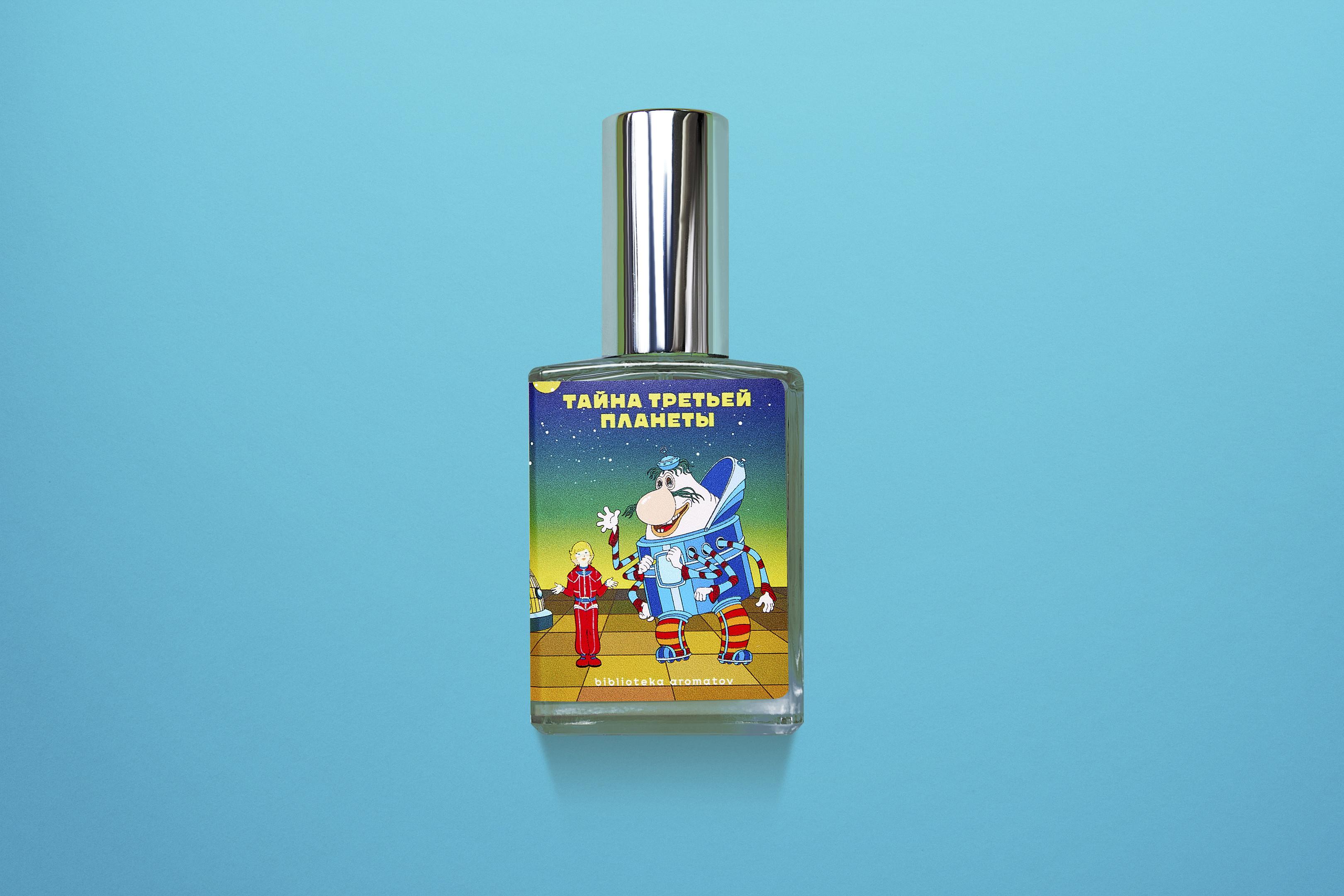 Студия «Союзмультфильм» выпустила линейку ароматов с запахами мультфильмов (фото 1)