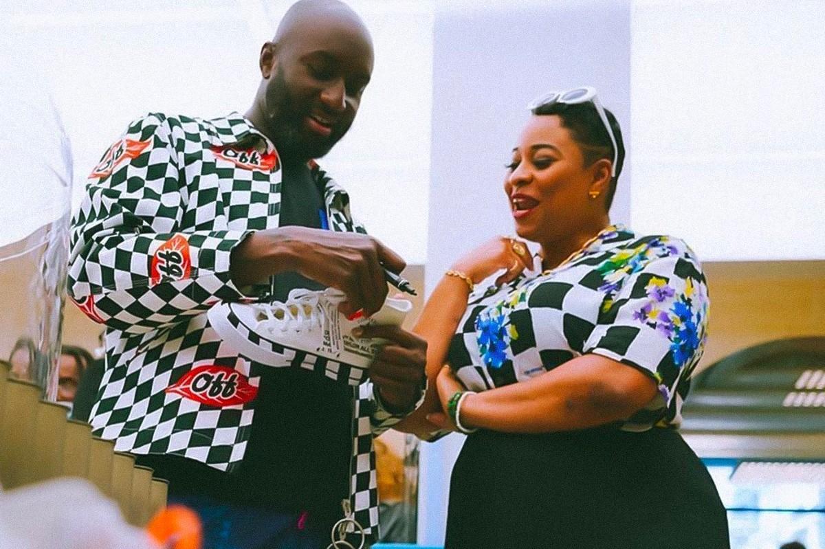 Вирджил Абло подарит кеды со своим автографом за пожертвование на благотворительность (фото 1