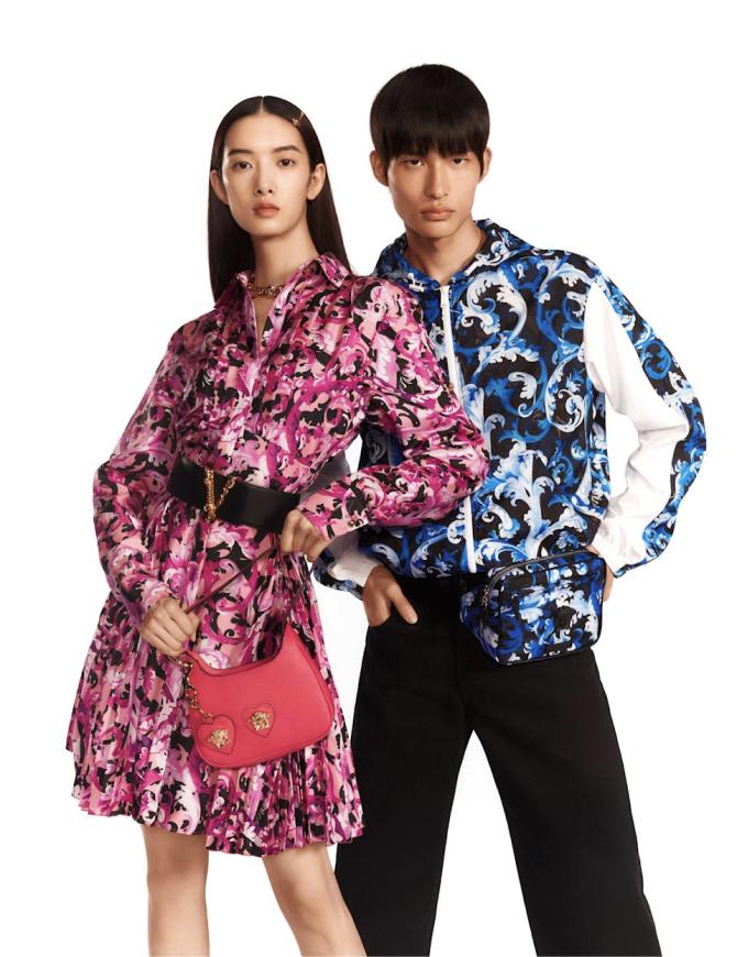 Versace представил капсулу ко Дню всех влюбленных в Китае (фото 1)