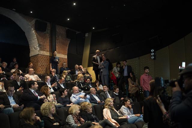 Гости показа фильма