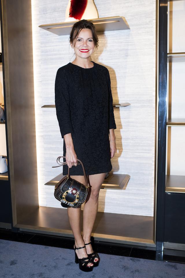 Открытие бутика Fendi и выставка бренда в ММОМА (фото 38)