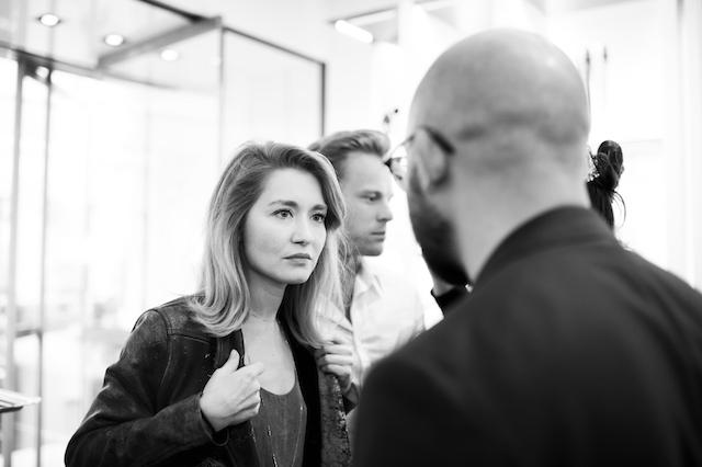 Открытие бутика Fendi и выставка бренда в ММОМА (фото 34)
