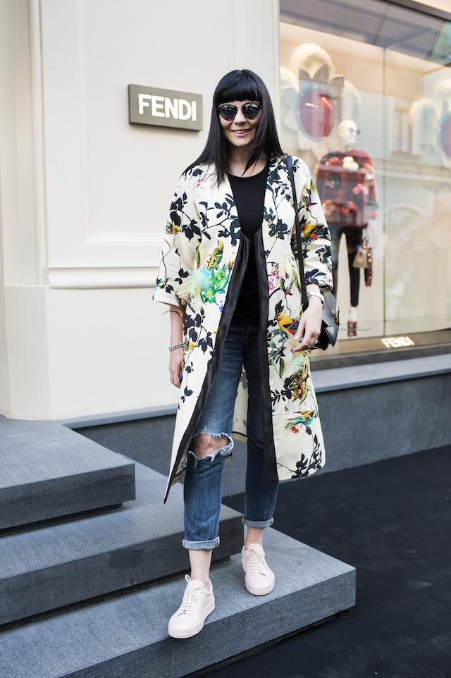 Открытие бутика Fendi и выставка бренда в ММОМА (фото 36)
