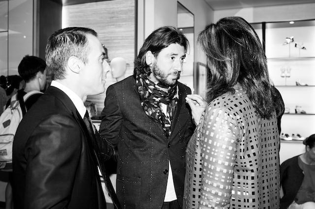 Открытие бутика Fendi и выставка бренда в ММОМА (фото 26)