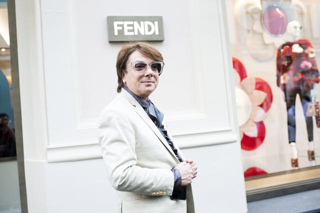 Открытие бутика Fendi и выставка бренда в ММОМА (фото 28)