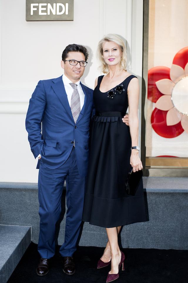 Открытие бутика Fendi и выставка бренда в ММОМА (фото 25)