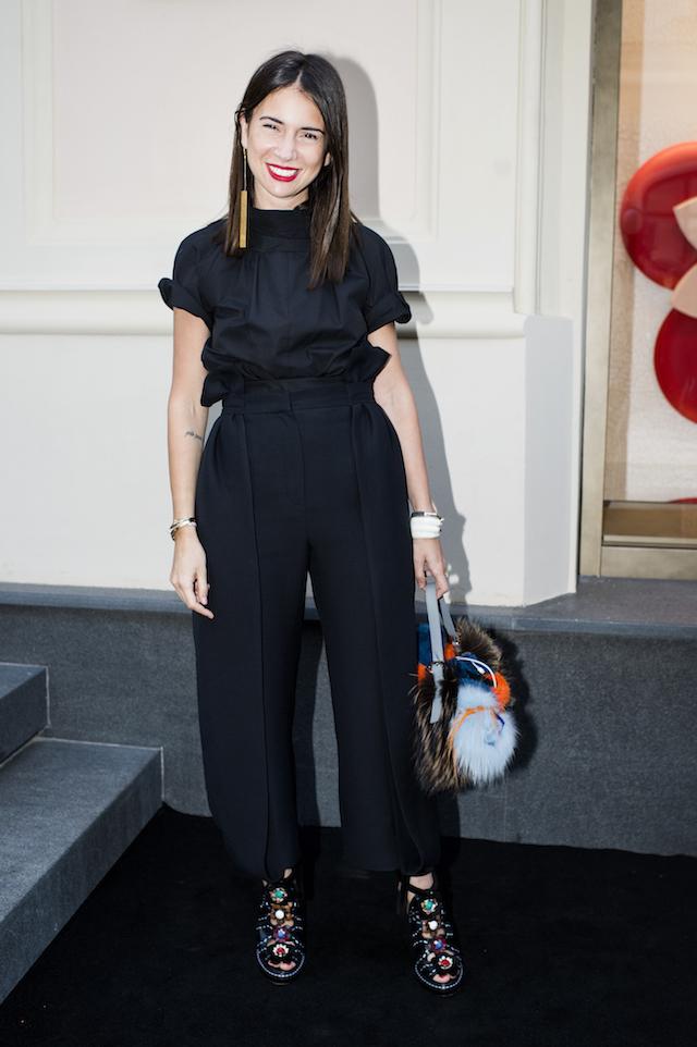 Открытие бутика Fendi и выставка бренда в ММОМА (фото 17)