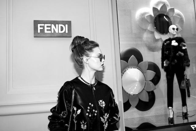Открытие бутика Fendi и выставка бренда в ММОМА (фото 7)