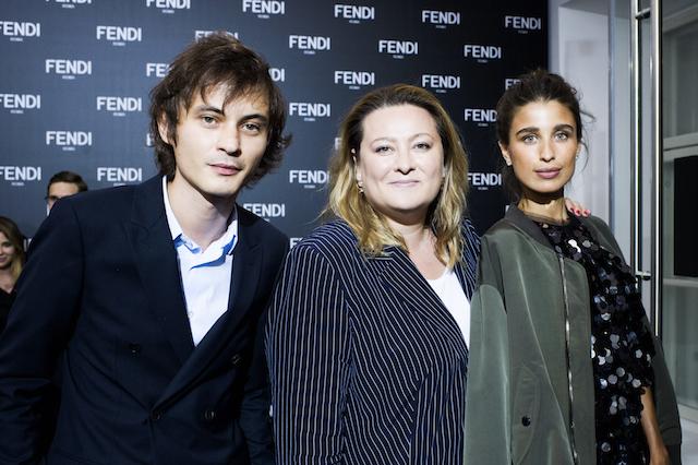 Открытие бутика Fendi и выставка бренда в ММОМА (фото 19)