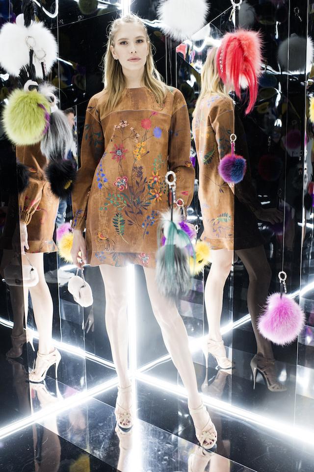 Открытие бутика Fendi и выставка бренда в ММОМА (фото 4)