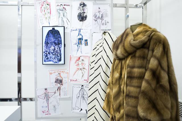 Открытие бутика Fendi и выставка бренда в ММОМА (фото 1)