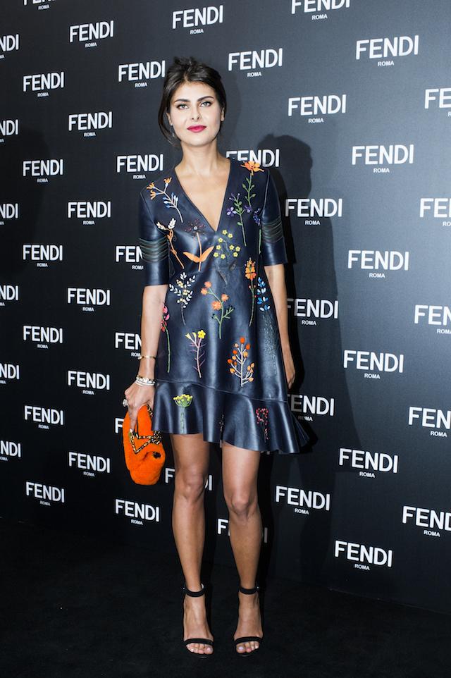 Открытие бутика Fendi и выставка бренда в ММОМА (фото 9)