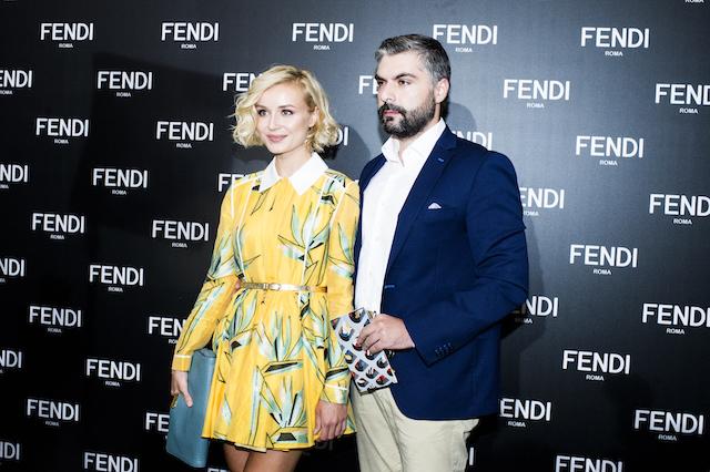 Открытие бутика Fendi и выставка бренда в ММОМА (фото 22)