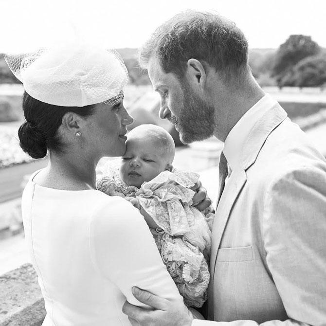 Меган Маркл и принц Гарри показали фотографии с крестин Арчи | BURO.